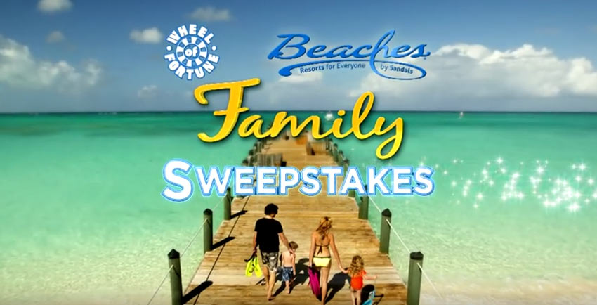 Beaches Resorts Family Sweepstakes