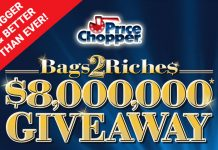 Bags2Riches Game Tickets