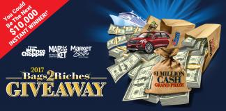 Price Chopper Bags2Riches Game 2017