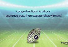 Esurance Pass It On Sweepstakes Winners