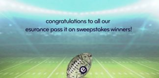 Esurance Pass It On Sweepstakes Winners