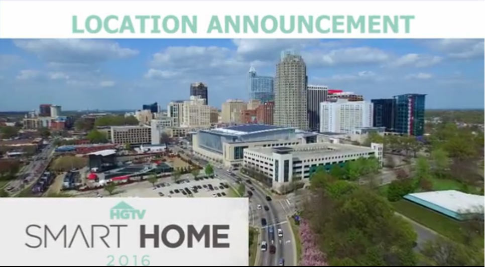 HGTV Smart Home 2016 Location Announcement