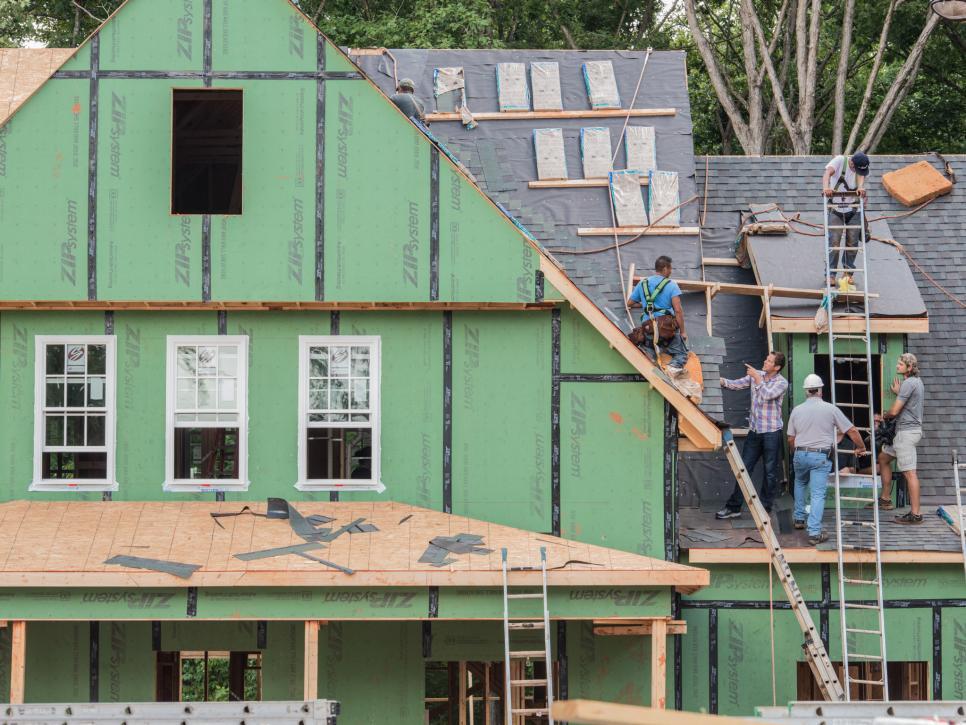 hgtv smart home under construction