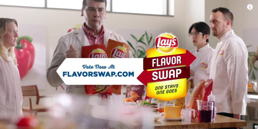 Lay's Flavor Swap Sweepstakes TV Commercial