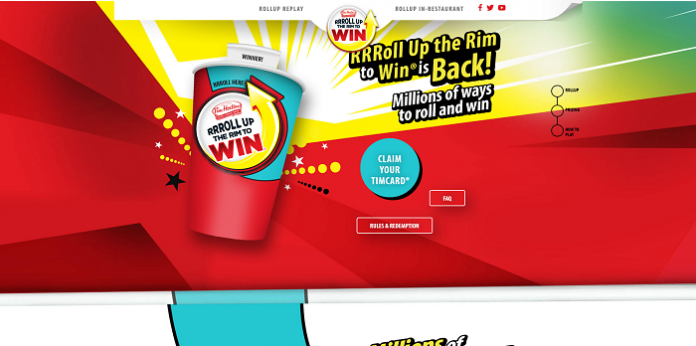 Roll up the rim 1986 prizes for kids