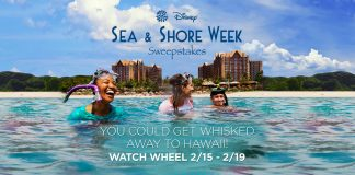 Wheel Of Fortune: Disney Sea & Shore Week Sweepstakes
