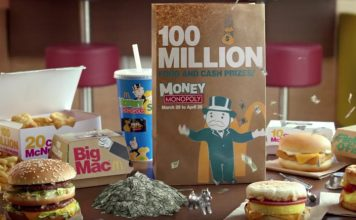 Money Monopoly At McDonald's TV Commercial