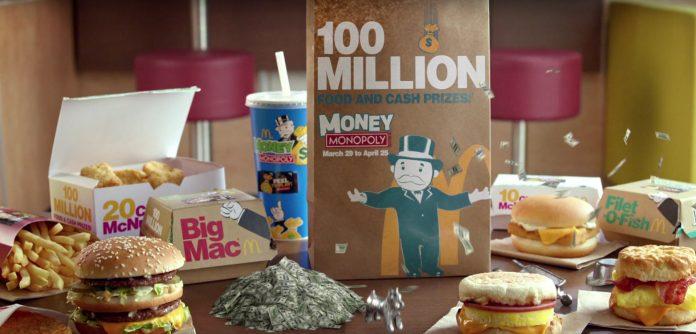 McDonalds Monopoly 2016 Game Pieces