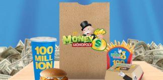 McDonald's Monopoly 2016 Returns