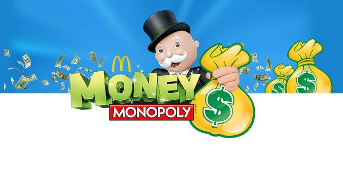 Mcdonalds monopoly 2019 rare stickers