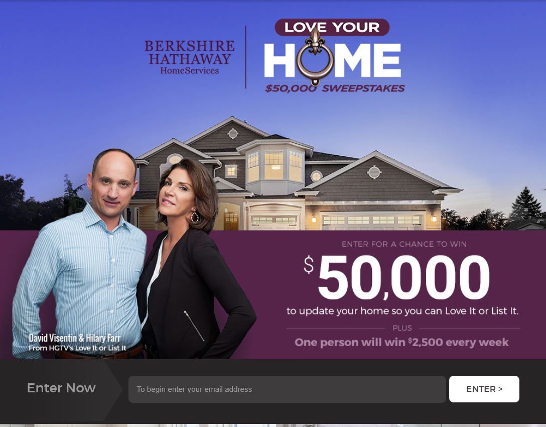 home giveaway sweepstakes love your home sweepstakes winzily 4207