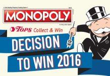 Tops Monopoly 2016
