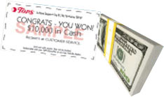 Tops Markets Monopoly 2016 Instant Win