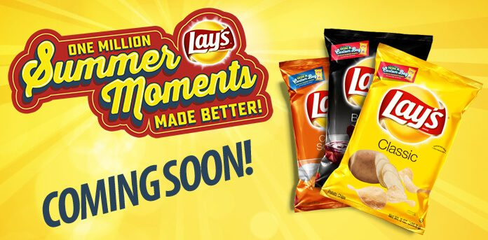 Lay's Summer Moments Promotion