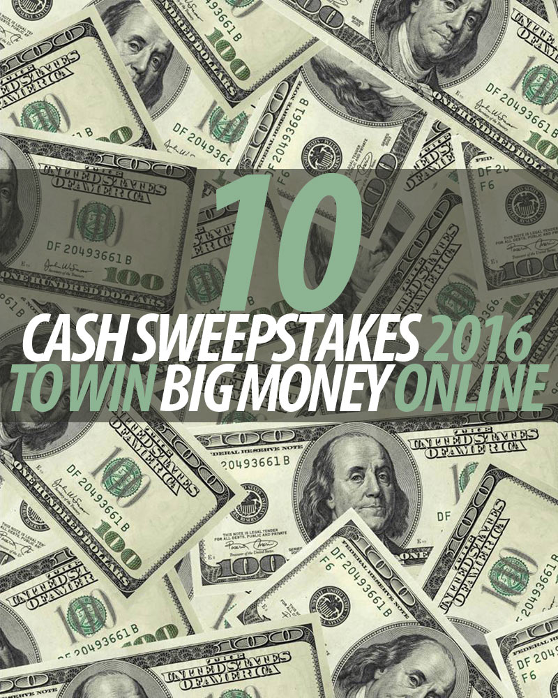 Diesel Brothers Giveaway 2017 >> 10 Cash Sweepstakes 2016 To Win Big Money Online - Winzily