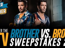 HGTV Brother Vs. Brother Sweepstakes 2016