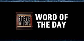 steve wilkos word of the day