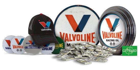 valvoline150 prizes
