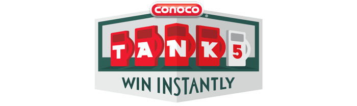 Conoco TANK5 Instant Win Game 2017: Play For A Chance To Win!