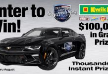 Kwik Fill Driving America Sweepstakes 2017