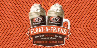 RootBeerFloatDay.com Float A Friend Sweepstakes 2016