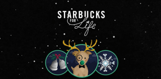 Starbucks For Life Holiday Edition 2016