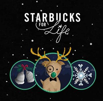 Starbucks For Life Holiday Edition 2016