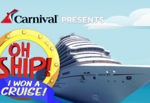 Celebrity Name For The EllenTV.com Carnival Oh Ship I Won A Cruise Watch And Win Contest
