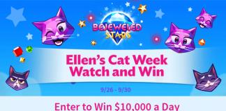 Ellen Cat Week Watch and Win Contest - Color Flag