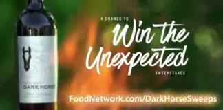 FoodNetwork.com/DarkHorseSweeps: Food Network And Dark Horse Sweepstakes