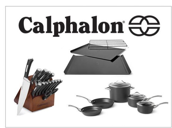 Calphalon Contemporary Nonstick Cookware, Bakeware and Precision Self-Sharpening Cutlery Set