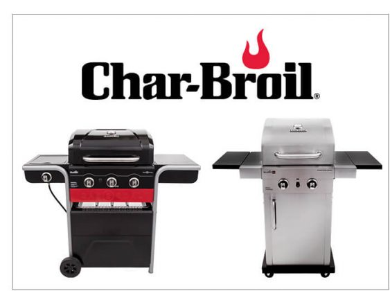 Char-Broil Gas2Coal� and Professional Series 2 Burner Grill
