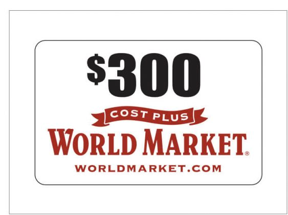 $300 World Market Gift Card