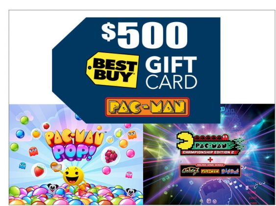 PAC-MAN Pop! and PAC-MAN Championship Edition 2 & a $500 Best Buy Gift Card