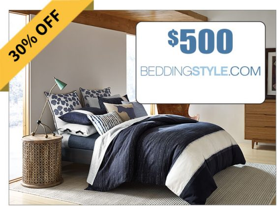 $500 Beddingstyle.com Gift Card