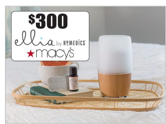 Ellia Reflect Diffuser, Signature Blend Essential Oils and a $300 Macy's Gift Card