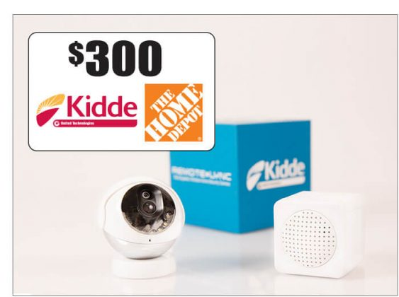 Kidde RemoteLync Camera, Monitor and a $300 The Home Depot Gift Card