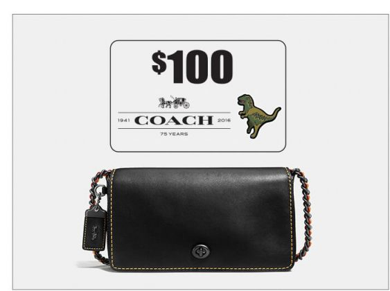 Coach Dinky Crossbody & a $100 Coach Gift Card