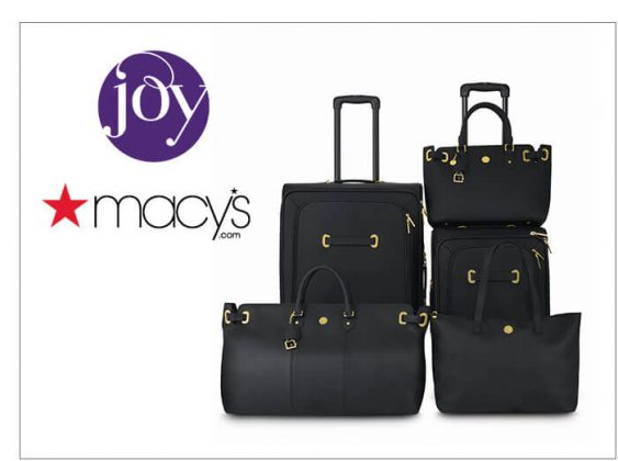 Joy Mangano Christie Luggage Available at Macy's