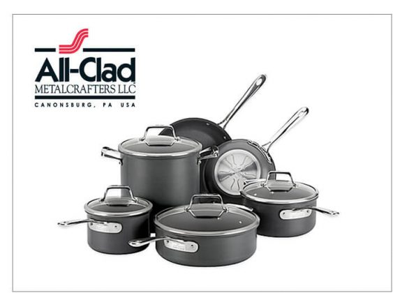 All-Clad 10-Piece Cookware