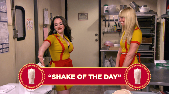 2 Broke Girls Word Of The Day - Shake Flavor