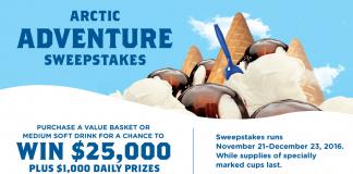 Culver's Arctic Puzzle Adventure Sweepstakes (CulversPuzzleAdventure.com)