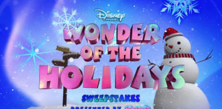 Disney Channel Wonder of the Holidays Sweepstakes