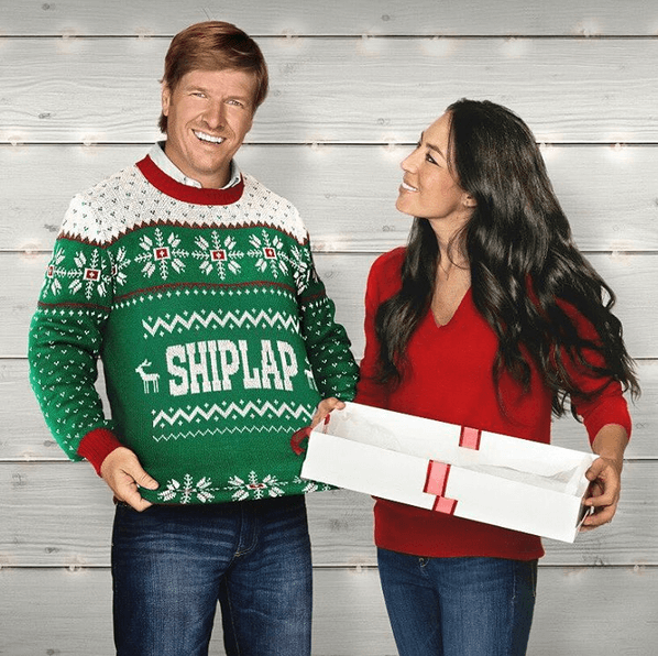 Fixer Upper Christmas Sweater Sweepstakes