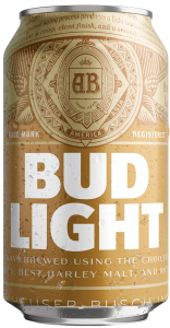 bud light gold can
