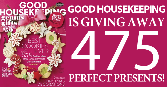 Good Housekeeping Is Giving Away 475 Perfect Presents!