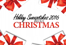 Holiday Sweepstakes 2016 Just In Time For Christmas!