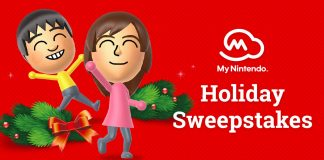 2017 My Nintendo Holiday Sweepstakes