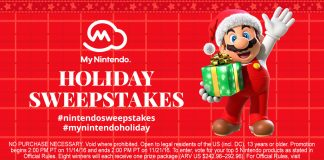 Nintendo Holiday Sweepstakes (HappyHolidays.Nintendo.com)