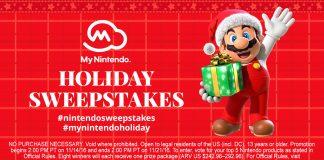 Nintendo Holiday Sweepstakes (HappyHolidays.Nintendo.com)